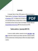 Manual Normas UFPel Trabalhos Acadêmicos