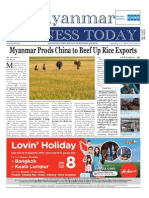 Myanmar Business Today - Vol 2, Issue 36