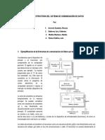 Teoria y Estructura Del Sistema de Comunicación de Datos Finmal