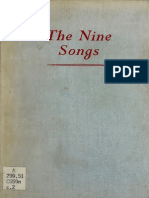 Nine songs= a study of shamanism in ancient China