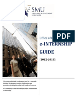 Internship Guide Late2012