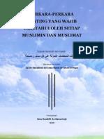 Terjemah Al Wajibat