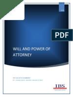 Wills & Power OF Attorney