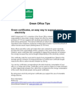 Green Office Tips