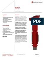 Technical Datasheet ATA Torque Anchor