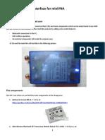 How to build a Bluetooth interface for a miniVNA antenna analyzer