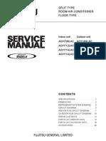 AGYF Floor Service Manual