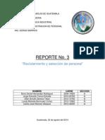 Tercer Reporte