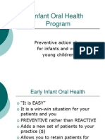Infant Oral Health by Doctor