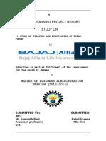 Bajaj Allianz Report Rahulsaxena1 140505004434 Phpapp02