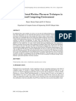Survey on Virtual Machine Placement Techniques In