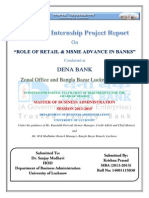 Summer Internship Report - Dena Bank