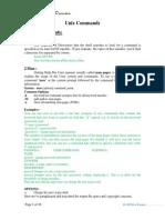 Unix Commands