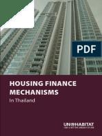 Housing Finance Mechanisms in Thailand