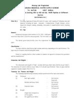 Specification for Final Tender Nagarama.