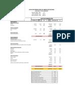 Costos de Produccion Planta Harina 5 TMH