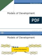 CHAPTER 1 Models of Development Part 2