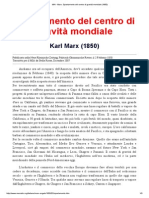 MIA - Marx_ Spostamento Del Centro Di Gravità Mondiale (1850)