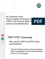 TEPT Overview and Guidelines