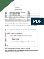 JavaTutorial 1