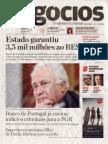 Jornal Negocios | Ano XV | Nº2811 | Agosto 2014
