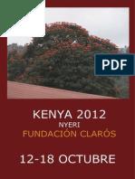 Viaje Humanitario Kenya 2012