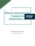 Appunti Di Metodi Matematici Per L'Ingegneria