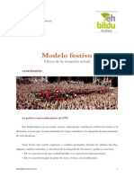 Modelo Festivo para Iruñea