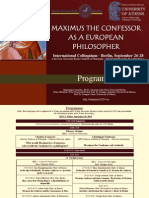 Maximus2014 Conference Programme