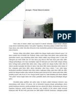 Kasus Pencemaran Lingkungan , Polusi Di Jakarta