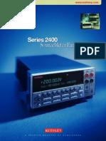 Keithley DMM 2400 Series