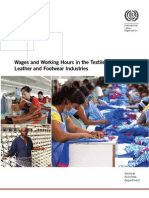 ILO report on wages in Apparel Manufacturing Industry