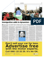 Immigration Adds to Dynamism...and Tension