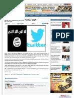 ISIS threatens to kill Twitter staff