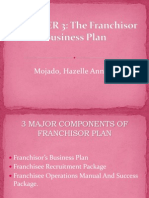 Chapter 3 - The Franchisor Business Plan