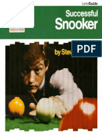 Successful Snooker Pdf