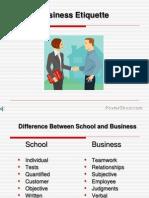 Business Etiquettes F5DDCD.10812180123519
