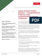 Contact Center Express Avaya 0711