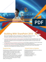 Building With SharePoint Server 2010 - Visionet Systems