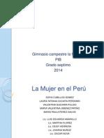 Diapositiva Pib Mujeres Peruana