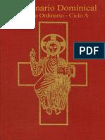 Leccionario Dominical T. O. Ciclo a - Liturgia