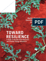 ECB Toward Resilience Disaster Risk Reduction Climate Change Adaptation Guide English