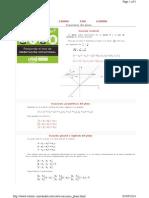 Analitica Recta Ecuaciones Plano