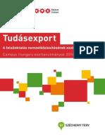 Tudásexport - A felsőoktatás nemzetköziesítésének eszközei
