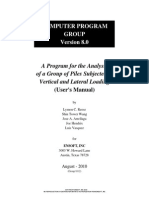 #Group 8 User Manual, Version 1