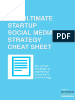 The Social Media Strategy Cheat Sheet