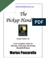 eBook - Guitar - Marius Panzarella - The Pickup Handbook