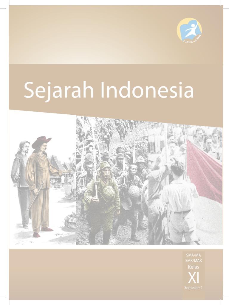 Sejarah Indonesia SMA/MASMK/MAK KelasKelas XI