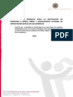 XI Informe ESCNNA.  Explotación sexual niños. 2011.