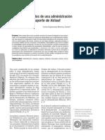 Enfoque y Conceptos de Una Administración Renovada_El Aporte de Aktouf